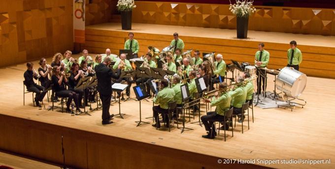 Euregio Brassband uit Borne